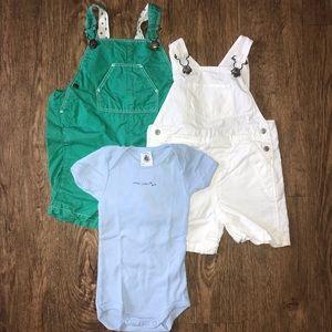 Petit Bateau spring/summer baby bundle 6 months